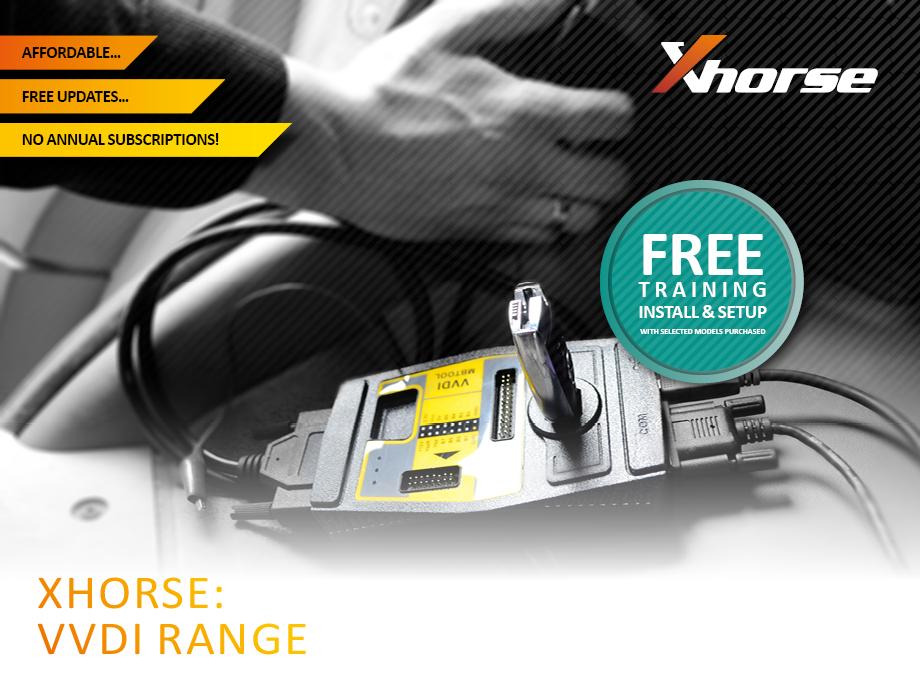 3D Group - New: Xhorse VVDI Range